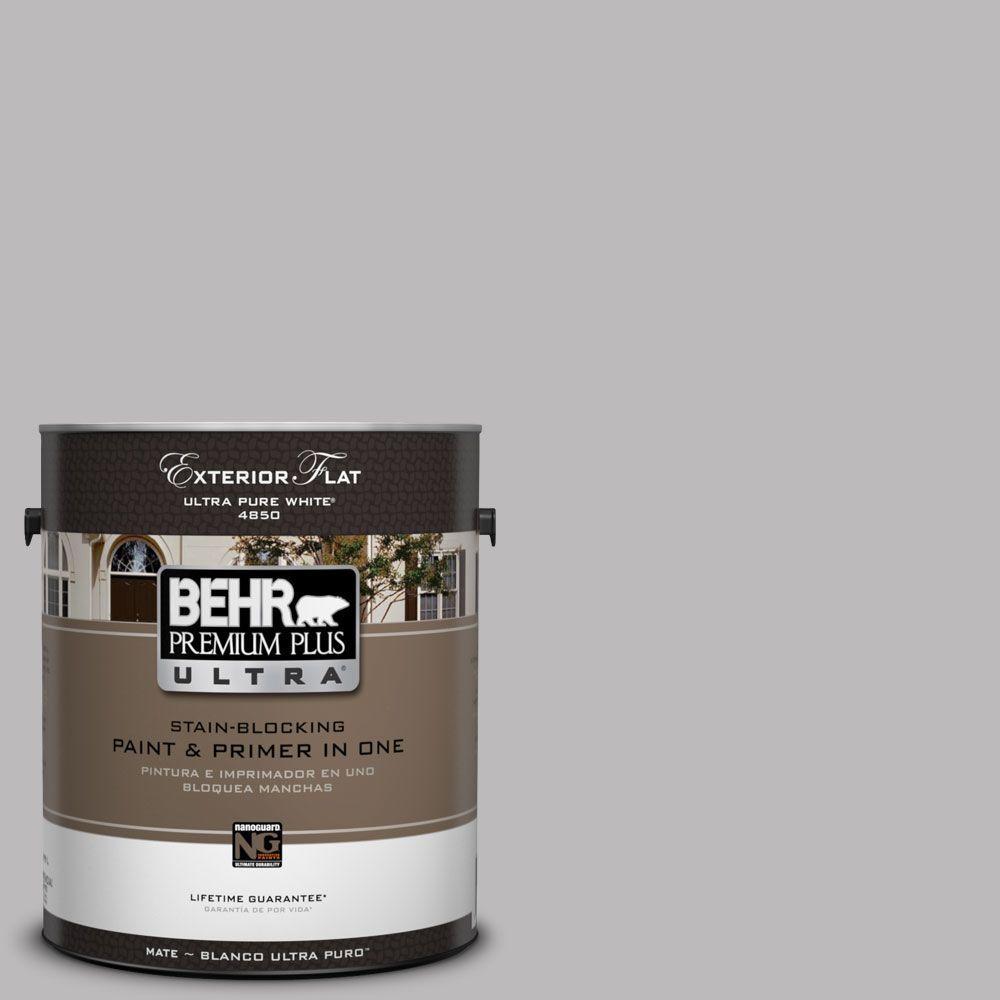 BEHR Premium Plus Ultra 1-Gal. #UL250-10 Grape Creme Flat Exterior Paint