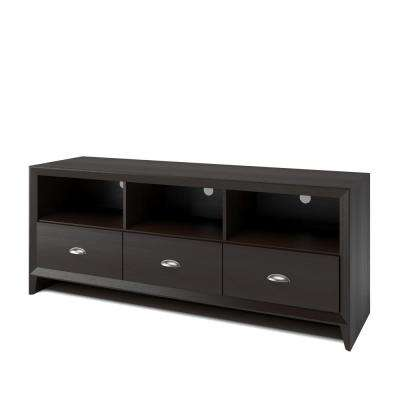 Kansas Espresso TV Bench for TVs up to 60 in.