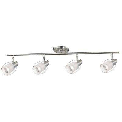 Salem Collection 4-Light Nickel Track Lighting Fixture
