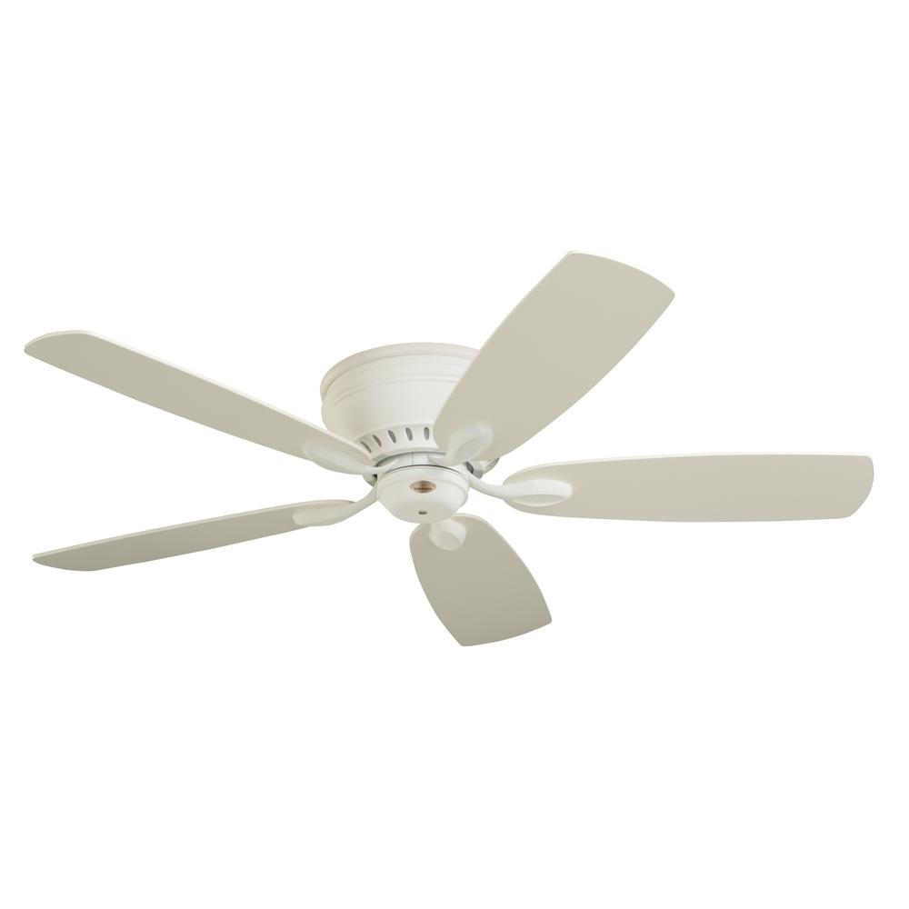 Emerson Prima Snugger 52 in. LED Satin White Ceiling Fan