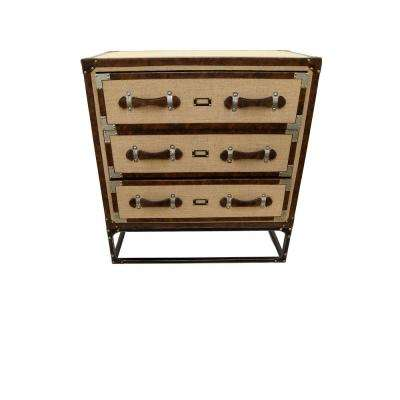 Brown Wood Cabinet