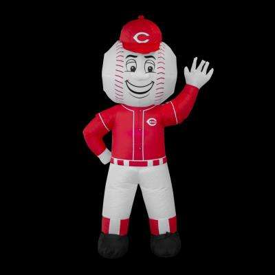 7 ft. Cincinnati Reds Inflatable Mascot