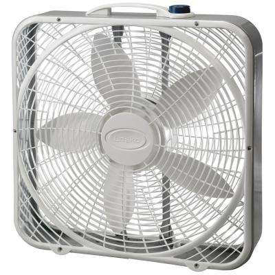 Premium 20 in. 3-Speed Box Fan