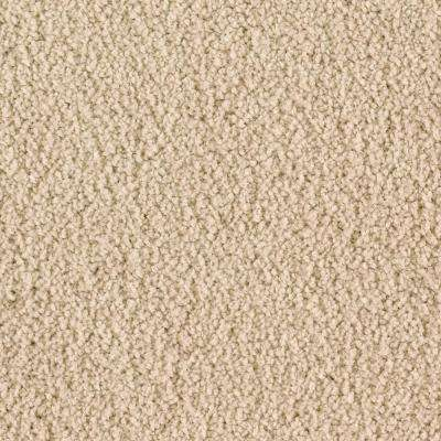 Carpet Sample - Windfall (S) - Color Khaki Textured 8 in. x 8 in.