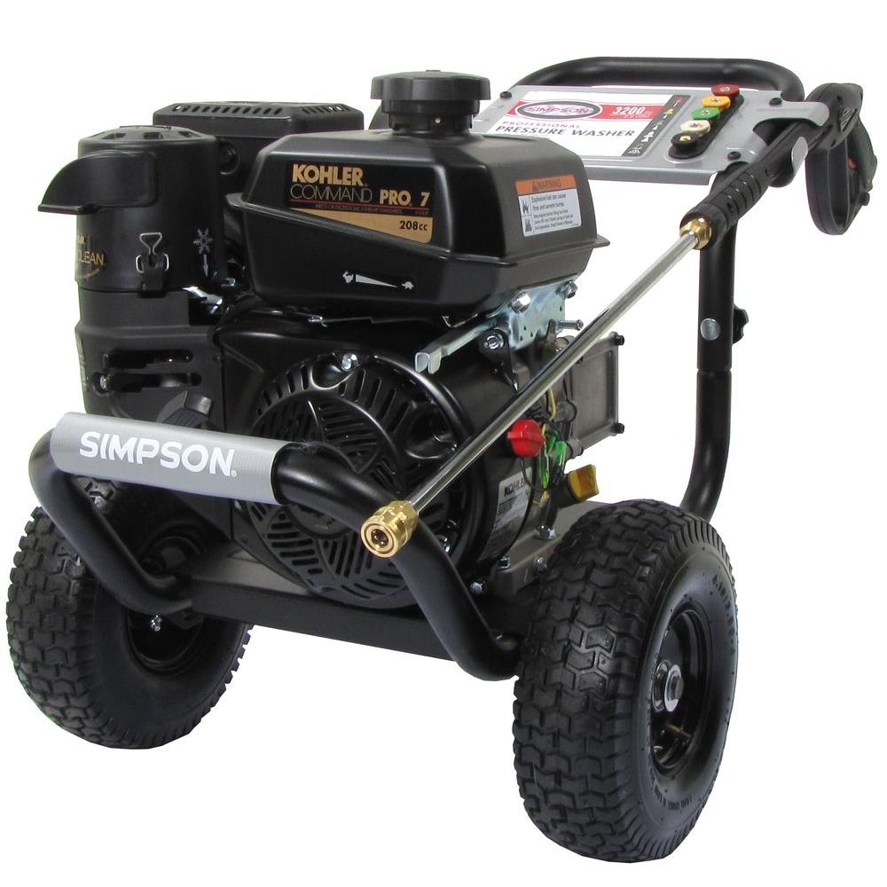 Simpson 3200-PSI 2.8-GPM Cold Water Gas Pressure Washer