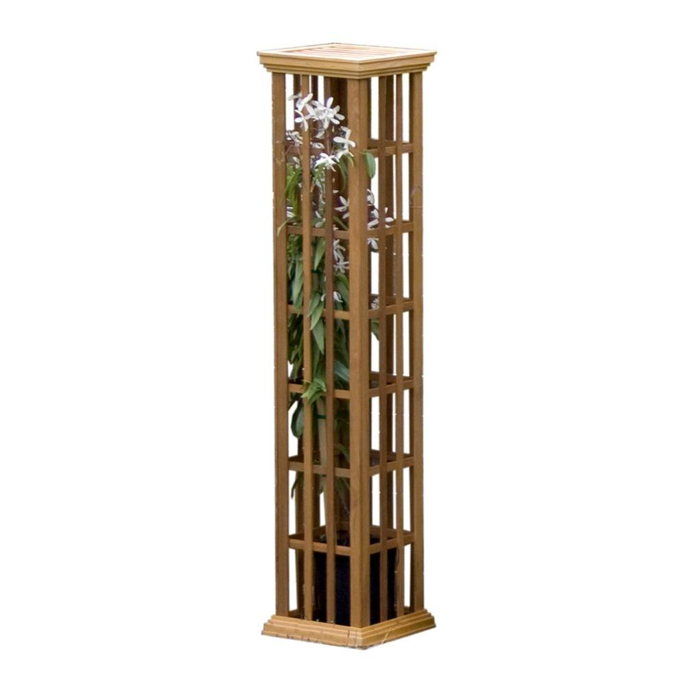 Arboria 72 in. Climbing Column Trellis - DISCONTINUED