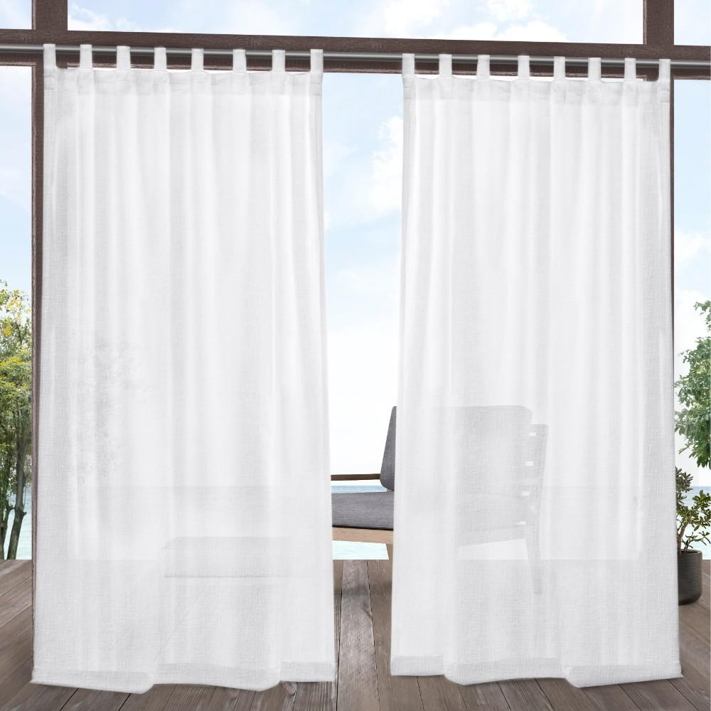 Exclusive Home Curtains Tao 54 In. W X 84 In. L Indoor