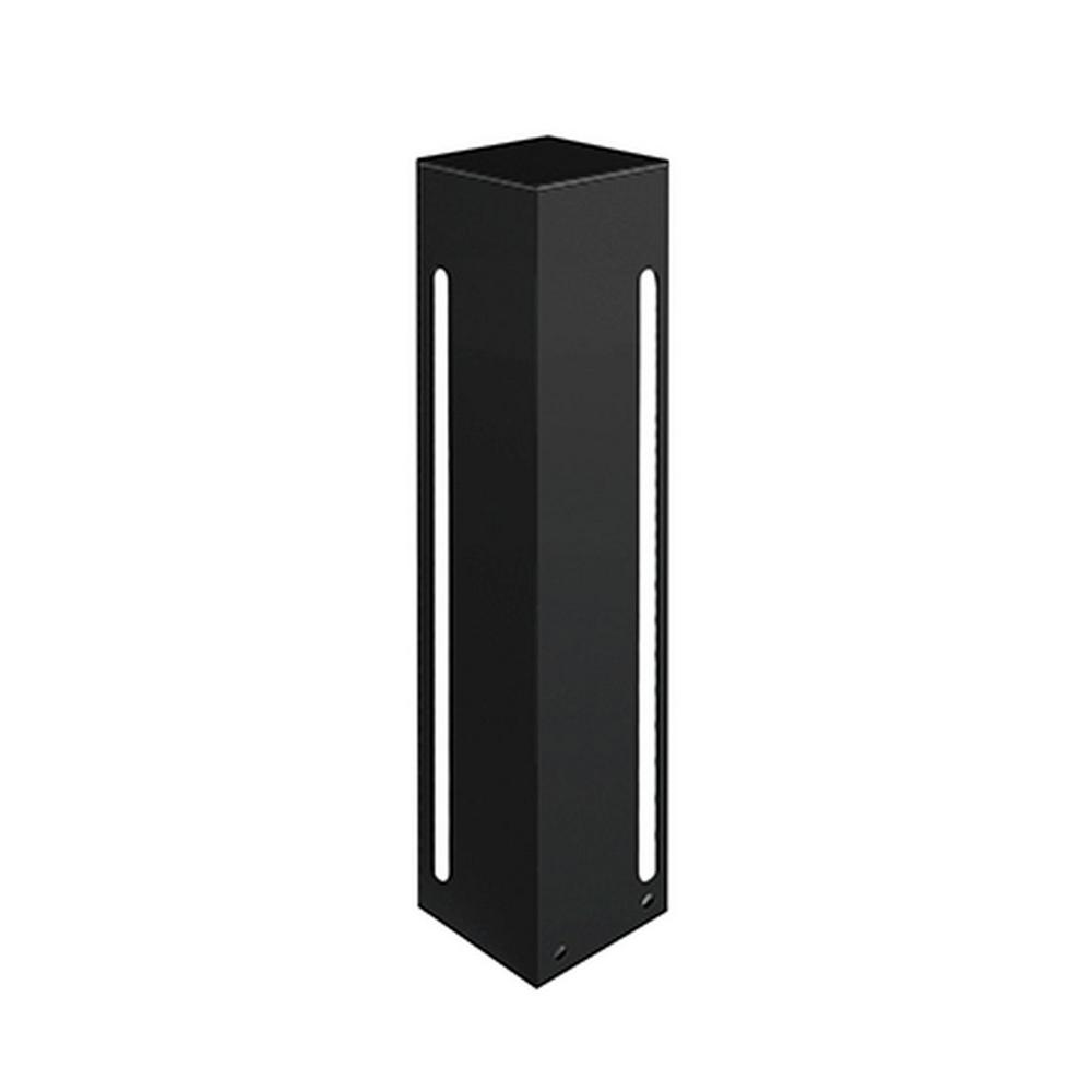 Frannie 1-Light Black 60-Watt Equivalence Integrated LED Outdoor Post Light