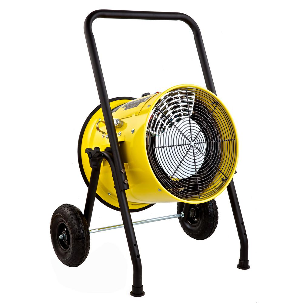 15000-Watt Salamander Construction Single Phase 240-Volt Portable Fan Forced