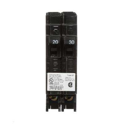 20/30 Amp Single Pole Tandem Type QT Circuit Breaker