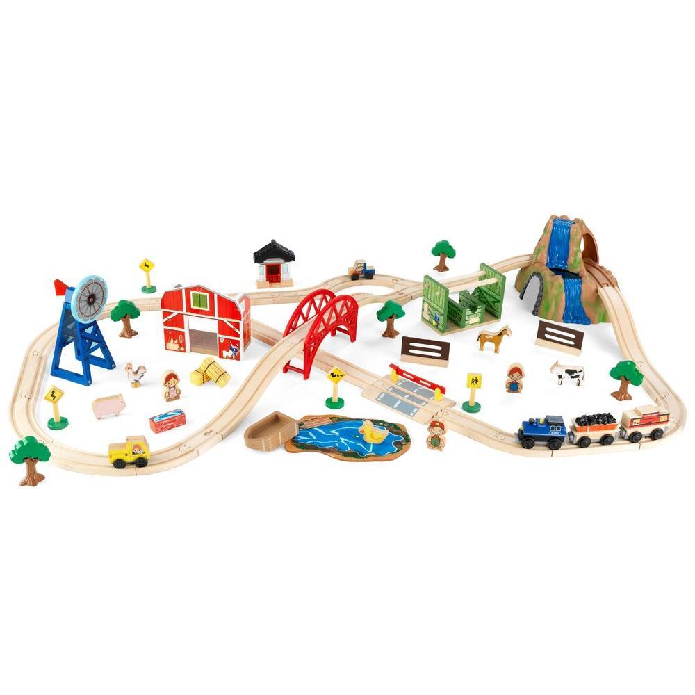 KidKraft Farm Train Play Set
