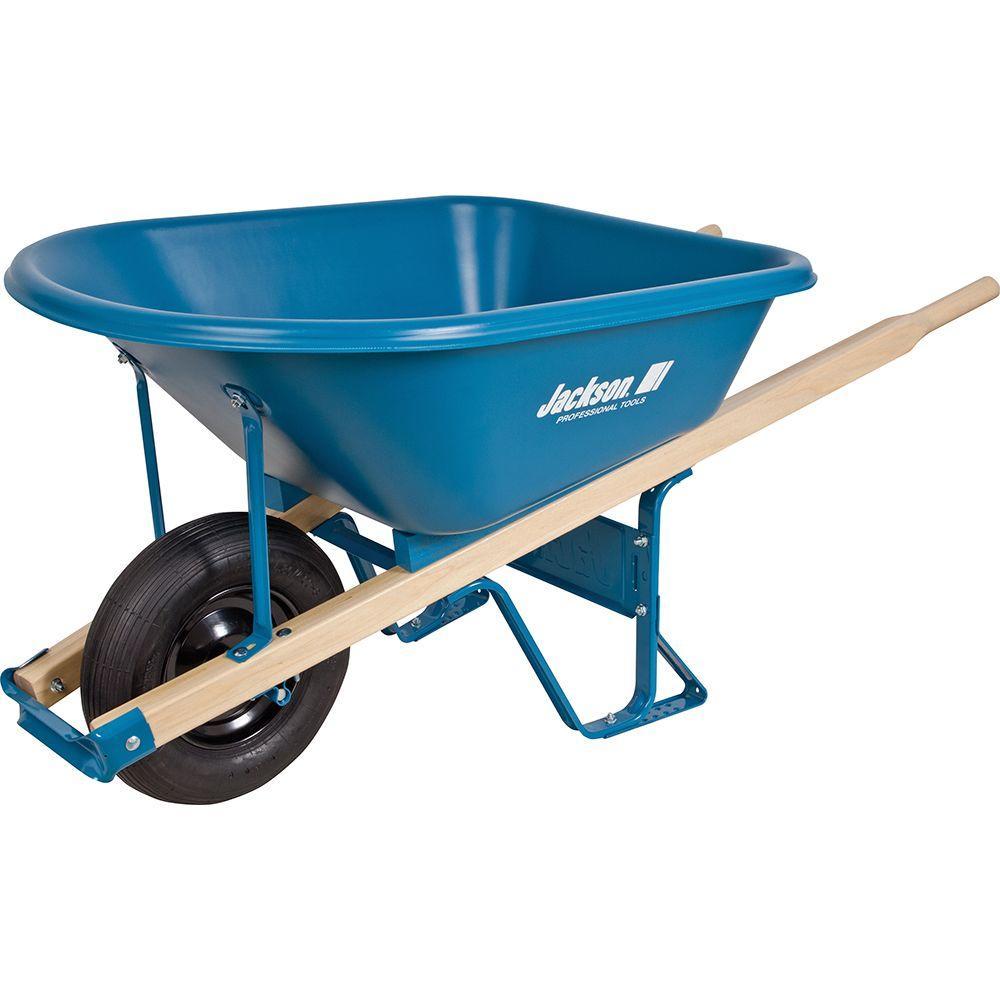 5.75 cu. ft. Thermoformed Poly Wheelbarrow