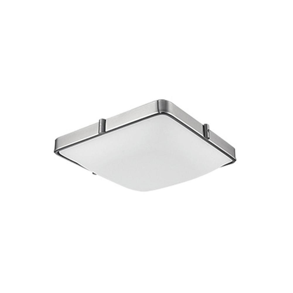 Radionic Hi Tech Oxford Brushed Nickel 40-Watt Equivalence Integrated LED Ceiling Flush Mount