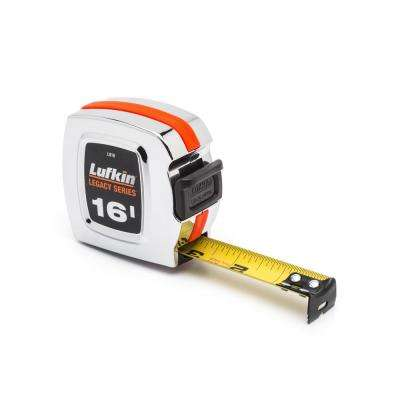 Legacy Series 1 in. x 16 ft. Chrome Tape Measure