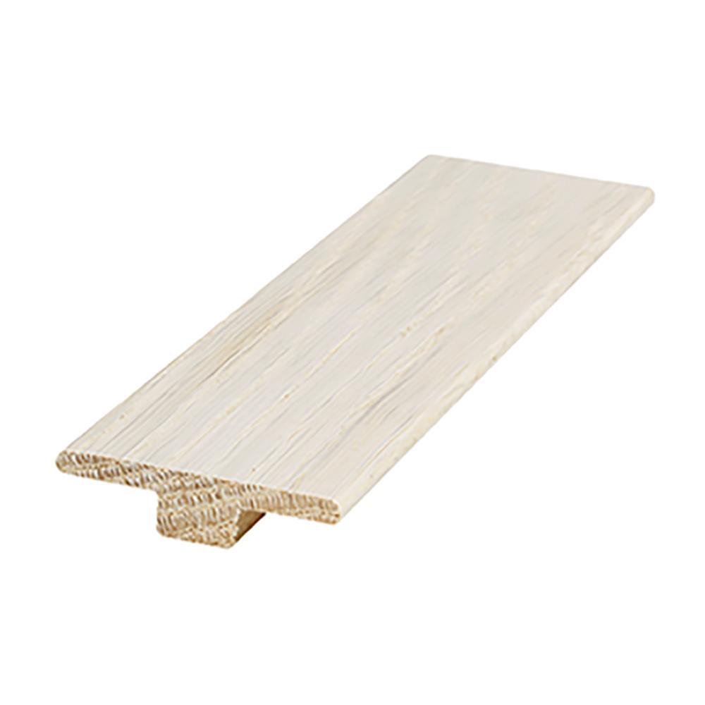 Seaspray Oak 0.56 in. Thick x 2 in. Wide x 84 in. Length T-Mold Hardwood Molding