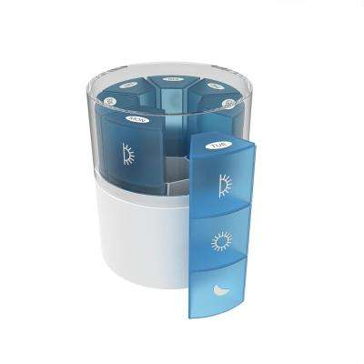 Daily Pill Organizer with Storage Case