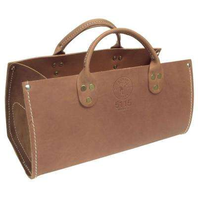 7 in. Leather Tool Bag