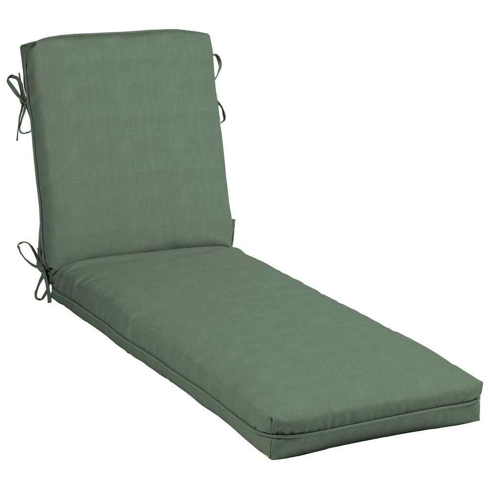 Hampton bay cushionguard surplus outdoor chaise lounge for Bay window chaise lounge