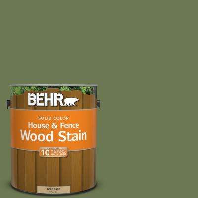 1 gal. #BIC-56 Jalapeno Solid Color House and Fence Exterior Wood Stain
