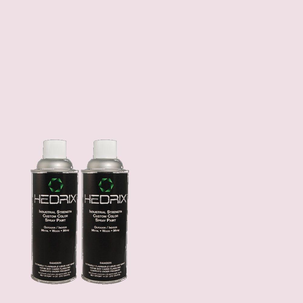 Hedrix 11 oz. Match of 2B34-1 Mistflower Semi-Gloss Custom Spray Paint (2-Pack)