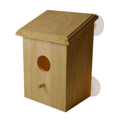 PetsN'all Improved Version Real Wood Bird House