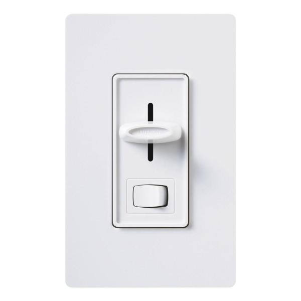 Skylark 300-Watt Single-Pole Electronic Low-Voltage Dimmer - White