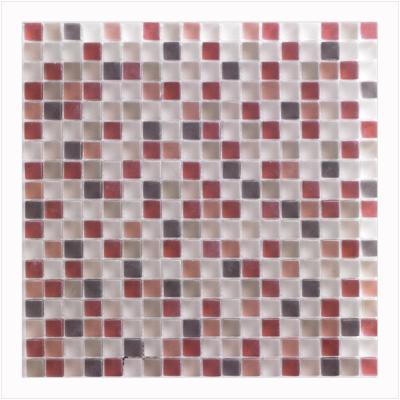 Tutti Frutti 12 in. x 12 in. x 8 mm Glass Mosaic Wall Tile (5 sq. ft. / case)