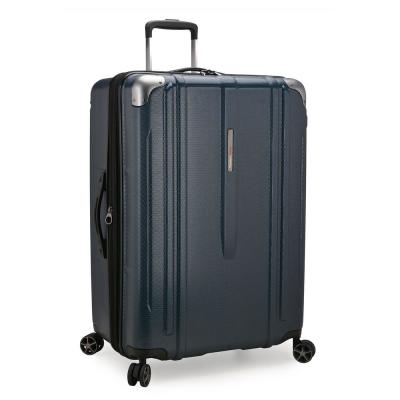 New London II 29 in. Navy Hardside Expandable Spinner Luggage
