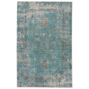 Jaipur Rugs Porcelain Green 2 ft. x 3 ft. Vintage Accent Rug by Jaipur Rugs