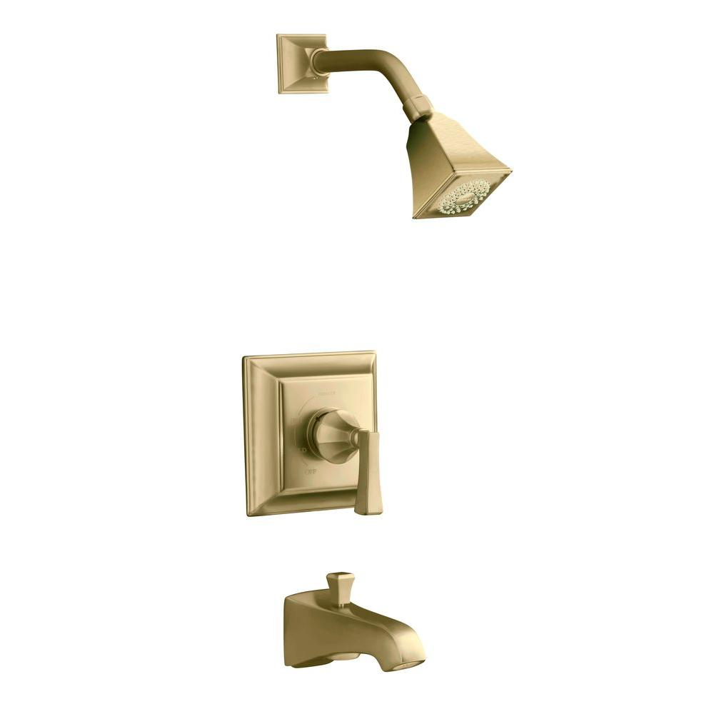KOHLER Memoirs 1-Handle Tub and Shower Faucet Trim Only in Vibrant ...