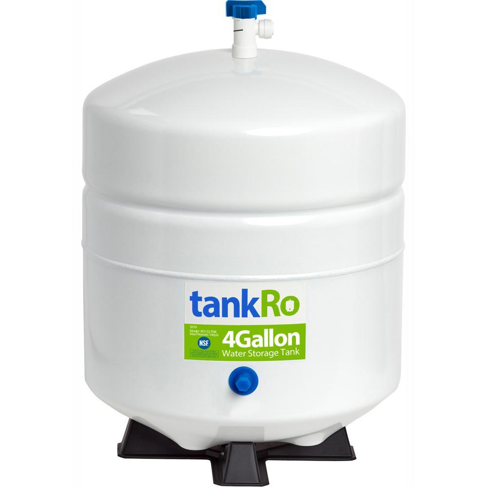 tankRO – RO Water Filtration System Expansion Tank – 4 Gallon – NSF Certified Reverse Osmosis Storage Pressure Tank