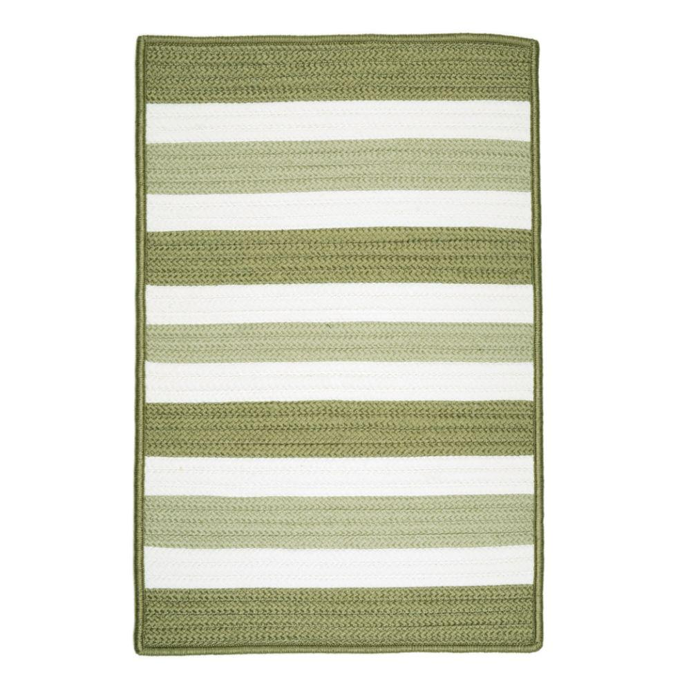 Cape Cod 2 ft. x 3 ft. Edamame Braided Area Rug