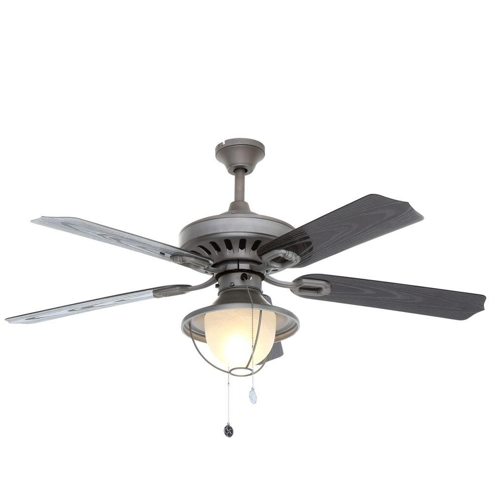 Westinghouse Lafayette 52 In Indoor Outdoor Antique Pewter Ceiling Fan 7877965 The Home Depot