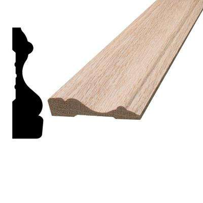 5/8 in. x 2-1/2 in. x 96 in. Oak Casing Moulding