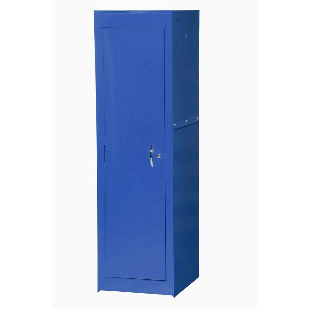 Tech Series 15-3/8 in. 2-Shelf Full Side Locker, Blue