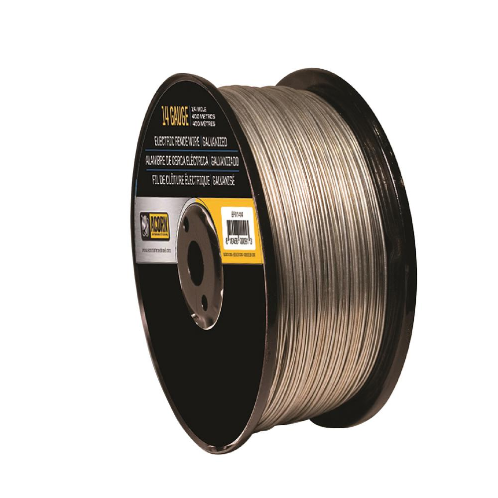 Acorn International 1-Mile 14-Gauge Electric Fence Wire-EFW1412 ...