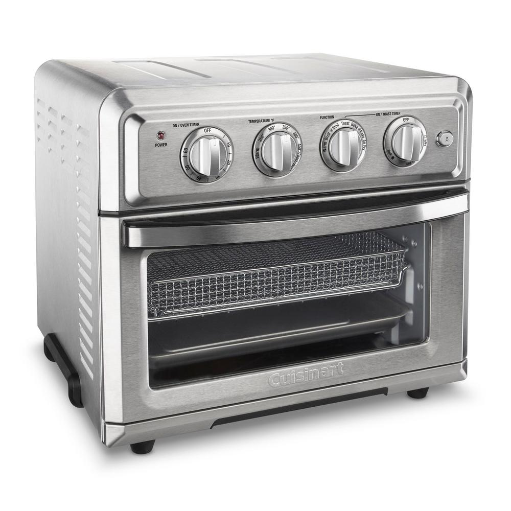 Cuisinart Air Fryer Toaster Oven Brushed Stainless, Silver