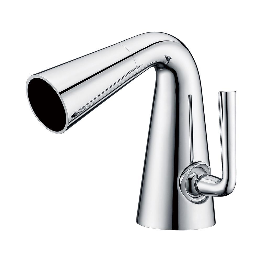 AB1788-PC Single Hole Single-Handle Bathroom Faucet in Polished Chrome