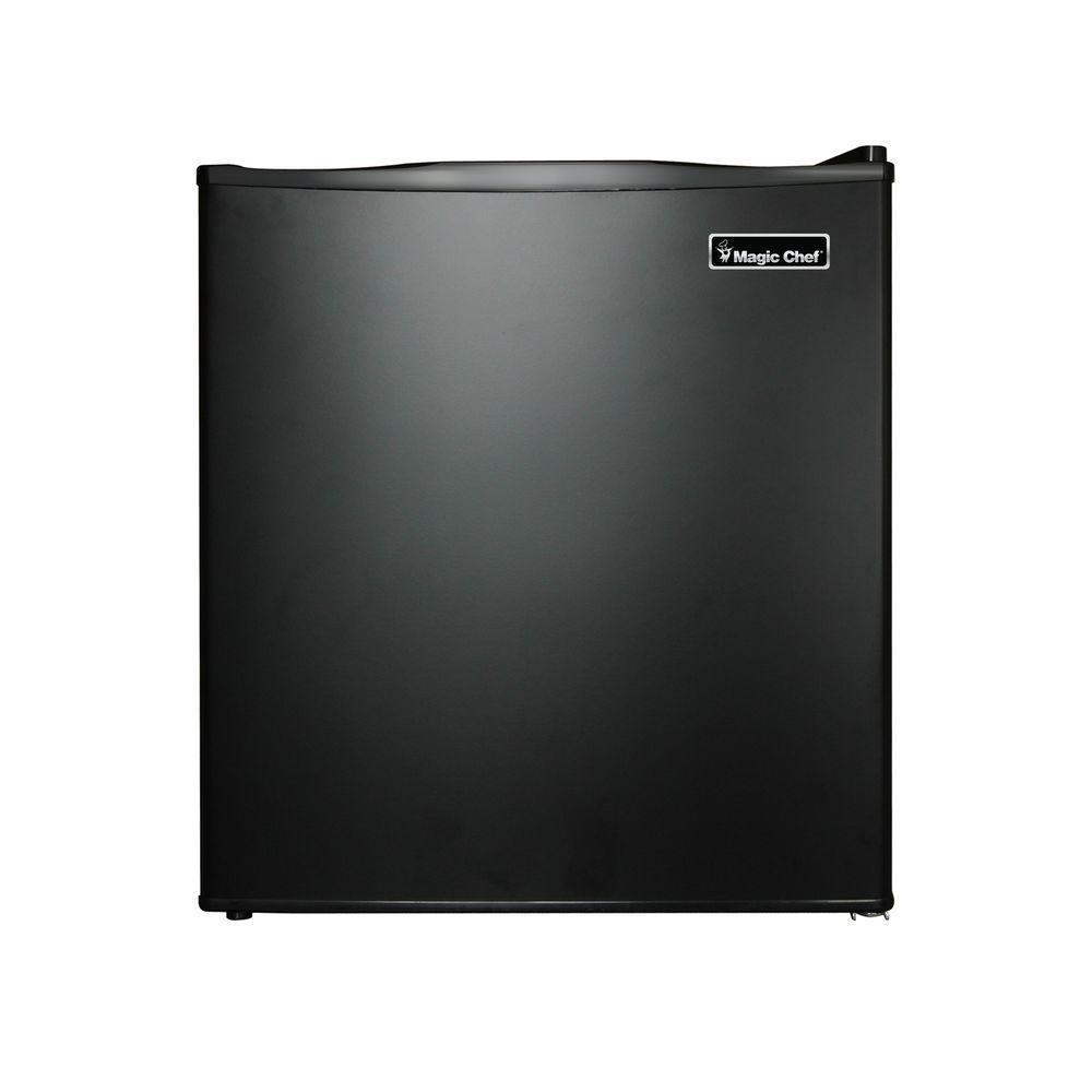 Magic chef mini fridge review - Magic Chef 1 7 Cu Ft Mini Refrigerator In Black