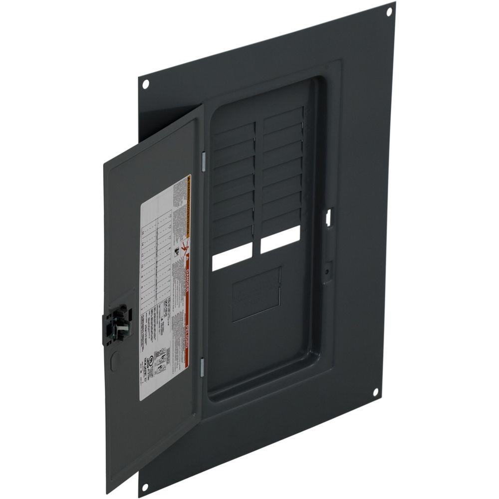 Square D Qo 16 Space Indoor Load Center Surface Mount Cover Qoc16us Underside Of Brand Circuit Breaker