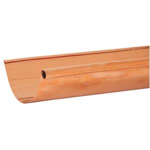 Amerimax Home Products 10 Ft X 5 In Half Round Copper