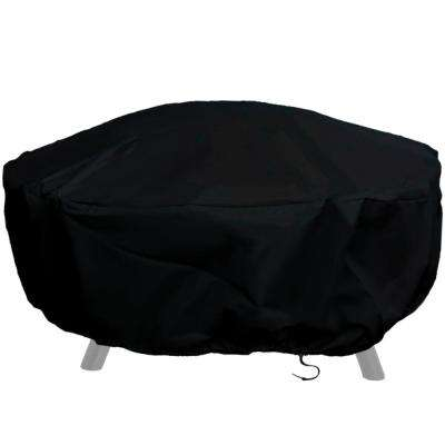 80 in. Durable Weather-Resistant Round Fire Pit Cover