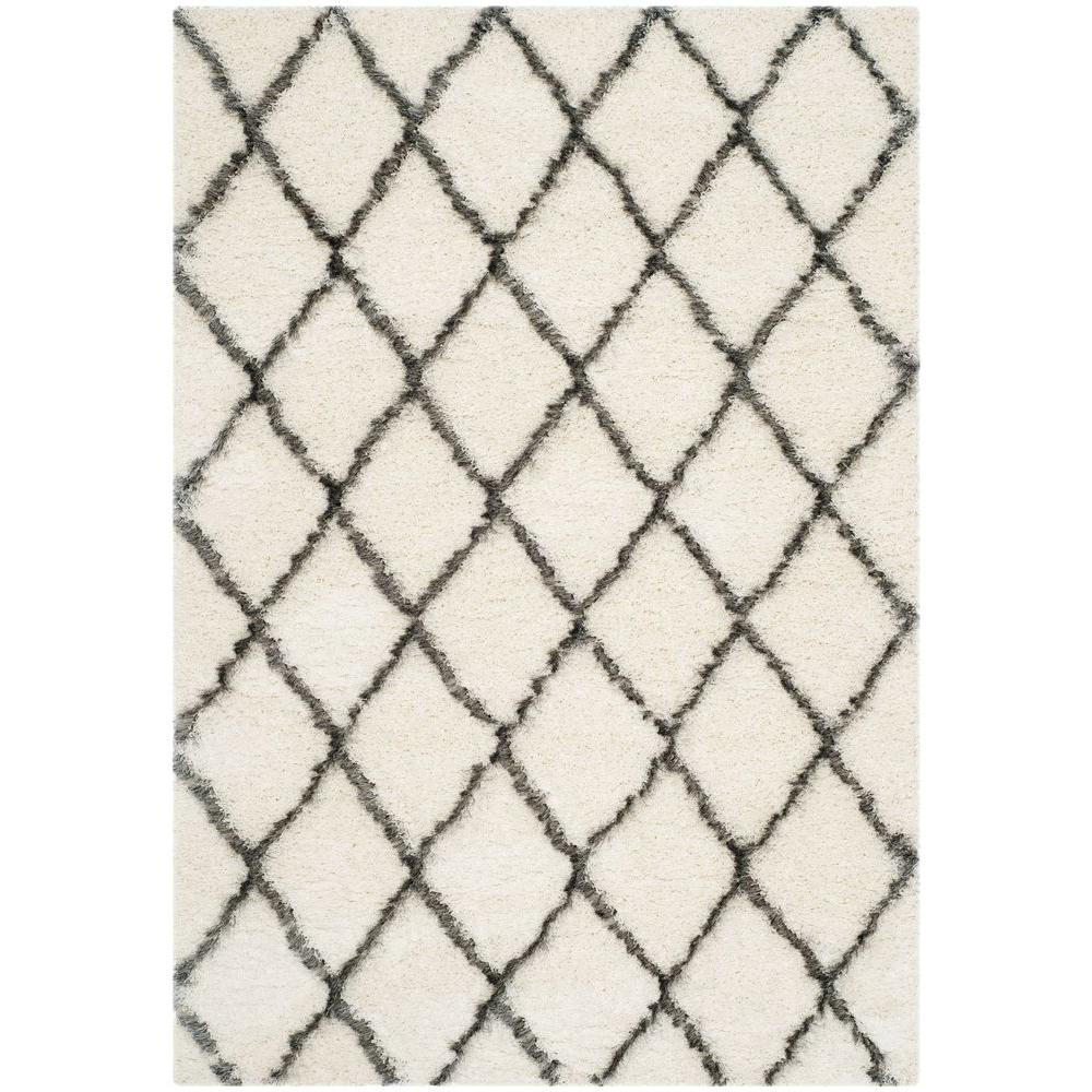 Safavieh Moroccan Ivory Grey 5 Ft 1 In X 7
