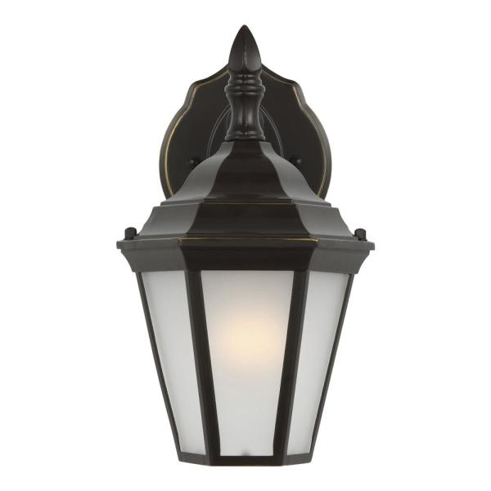 Bakersville 1-Light Heirloom Bronze Outdoor Wall Lantern