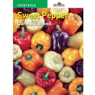 Sweet Pepper Carnival Mix Seed