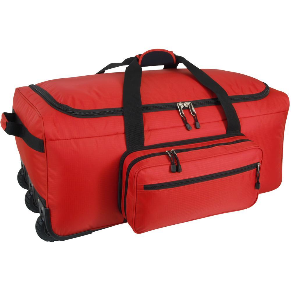 Mercury Luggage Mini Monster Bag in Red