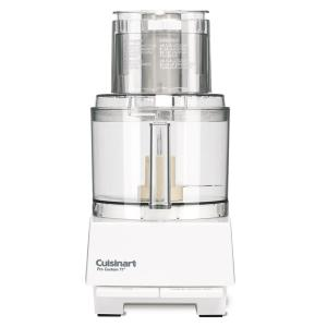 PRO Custom 11-Cup 2-Speed Classic White Food Processor with Pulse Control