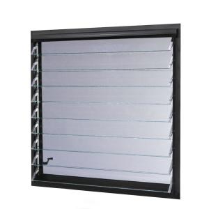 Tafco Windows 36 In X 34 87 In Jalousie Utility Louver
