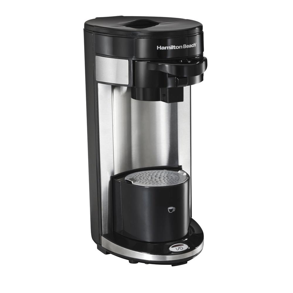 Coffee Maker For One : Hamilton Beach FlexBrew Single Serve Coffee Maker-49995R - The Home Depot