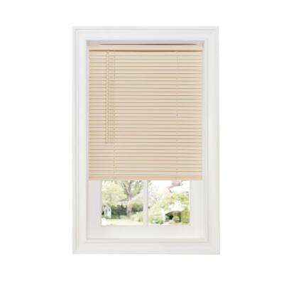 Alabaster Vinyl Mini Blinds Mini Blinds The Home Depot